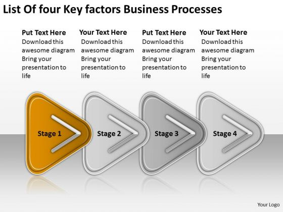 Powerpoint Templates Free Download Processes Business Plans Software
