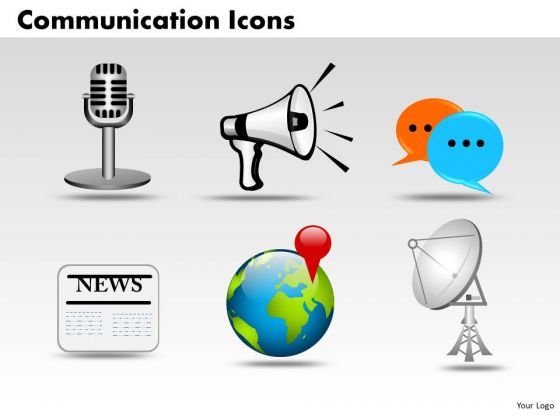 PowerPoint Templates Global Communication Icons Ppt Layouts