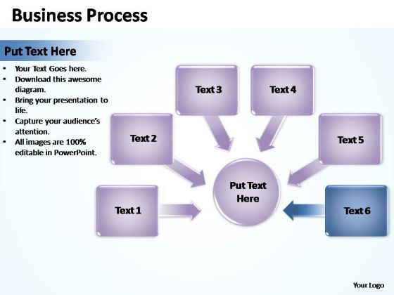 PowerPoint Templates Graphic Business Process Ppt Slides