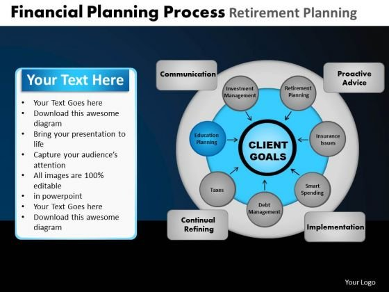 PowerPoint Templates Graphic Financial Planning Ppt Layout