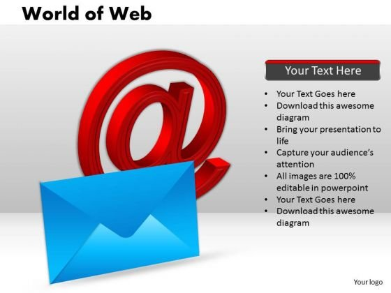 PowerPoint Templates Graphic World Of Web Ppt Theme