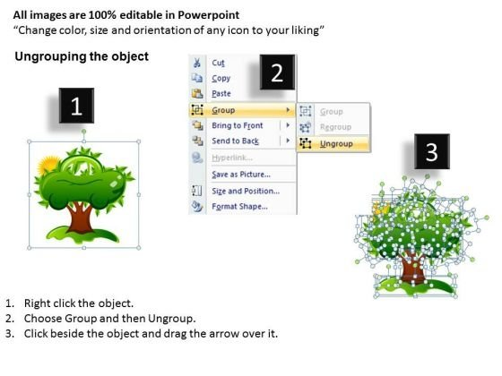 powerpoint_templates_green_electric_car_tree_nature_ppt_slides_2