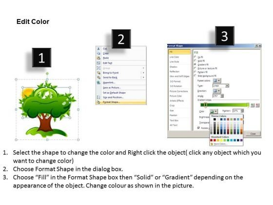 powerpoint_templates_green_electric_car_tree_nature_ppt_slides_3