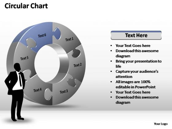 PowerPoint Templates Growth Circular Chart Ppt Themes