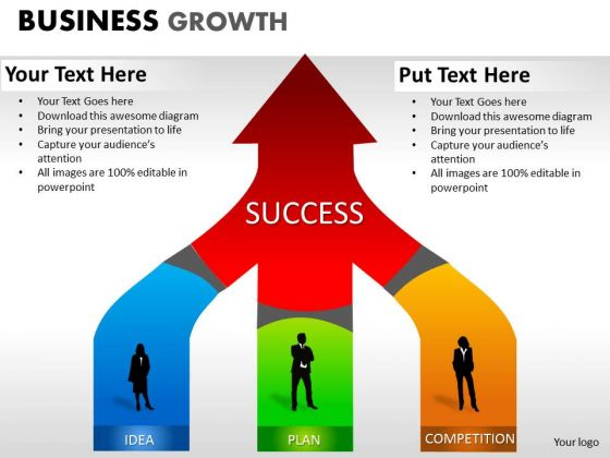 PowerPoint Templates Leadership Business Growth Ppt Slides