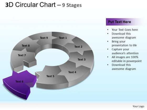 PowerPoint Templates Leadership Circular Chart Ppt Presentation Designs