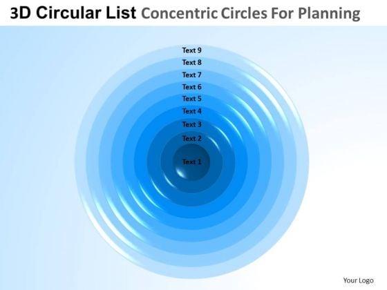 PowerPoint Templates List Core Diagrams Business Ppt Backgrounds