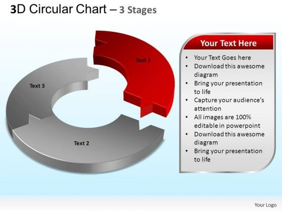 PowerPoint Templates Marketing Circular Chart Ppt Backgrounds