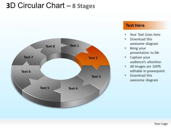 PowerPoint Templates Marketing Circular Chart Ppt Template