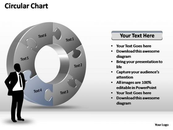 PowerPoint Templates Marketing Circular Chart Ppt Themes