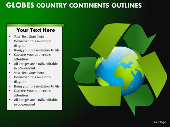 PowerPoint Templates Marketing Globes Country Ppt Presentation