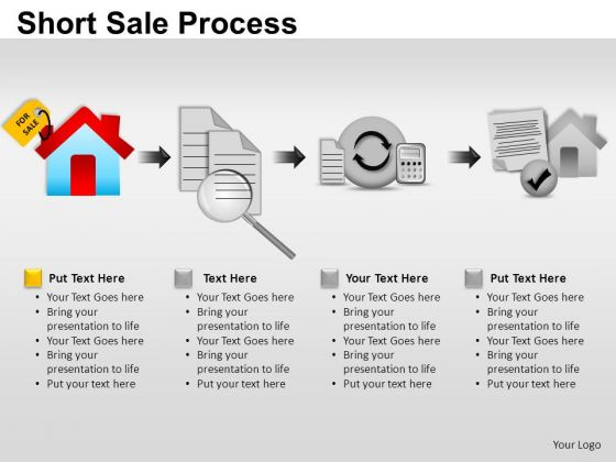 PowerPoint Templates Marketing Short Sale Process Ppt Themes