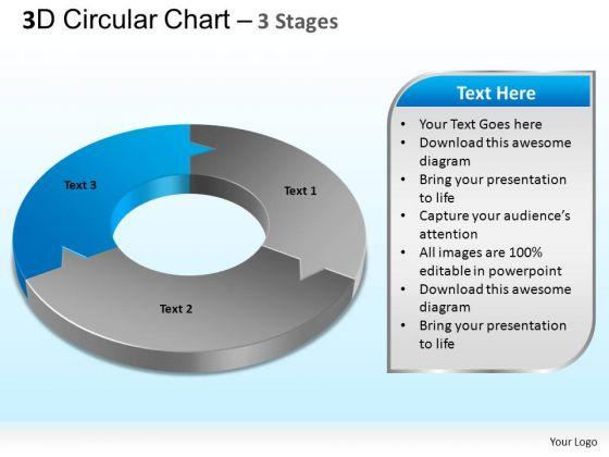 PowerPoint Templates Process Circular Chart Ppt Backgrounds