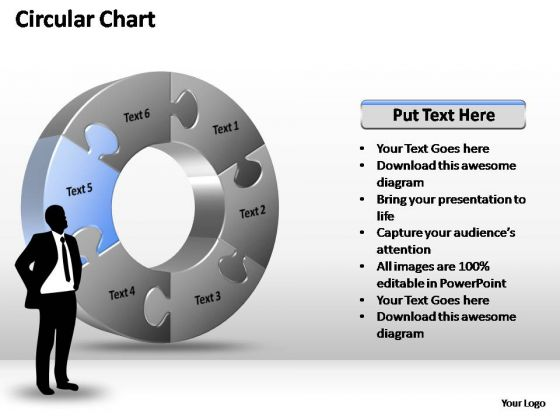 PowerPoint Templates Process Circular Chart Ppt Themes
