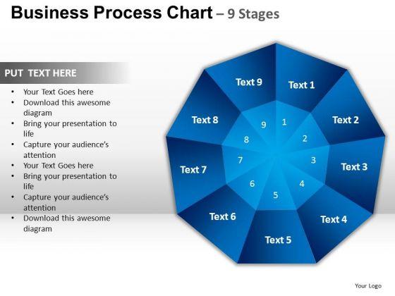 PowerPoint Templates Process Circular Quadrant Ppt Theme
