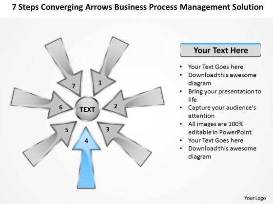 PowerPoint Templates Process Management Solution Ppt Circular Arrow