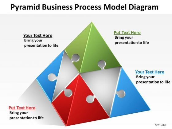 PowerPoint Templates Process Model Diagram Circular Flow
