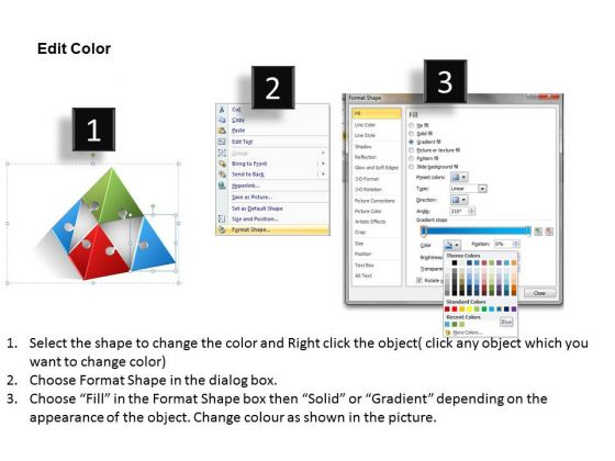 powerpoint_templates_process_model_diagram_circular_flow_3