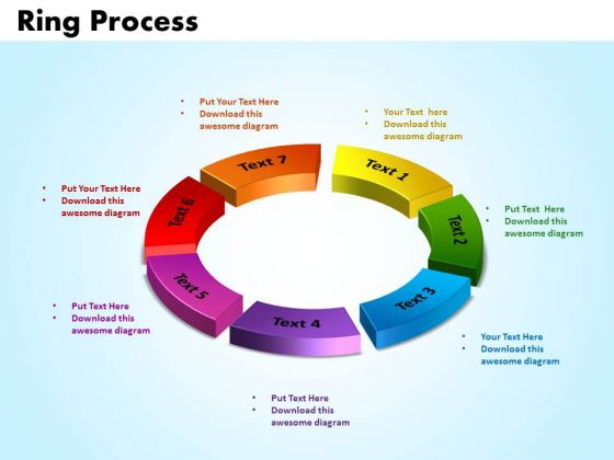 PowerPoint Templates Ring Process Download Ppt Design
