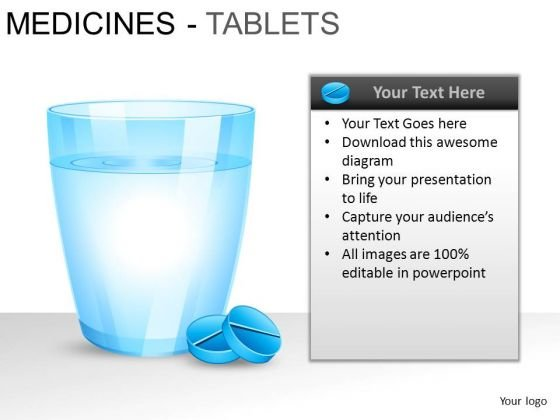 PowerPoint Templates Sales Medicine Tablets Ppt Slides
