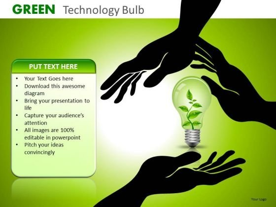 PowerPoint Templates Save The Environment Green Energy Ppt Slides