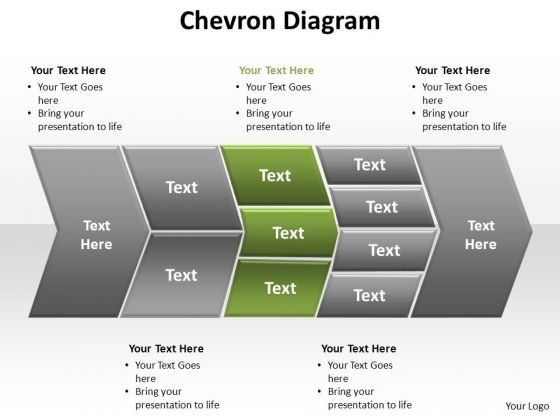 PowerPoint Templates Strategy Chevron Diagram Ppt Backgrounds