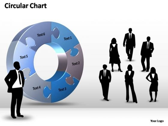 PowerPoint Templates Strategy Circular Chart Ppt Themes