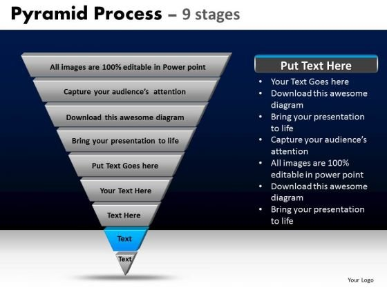 PowerPoint Templates Strategy Pyramid Process Ppt Design