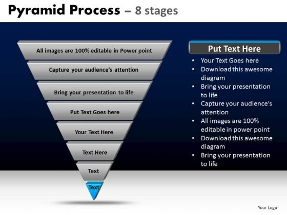 PowerPoint Templates Strategy Pyramid Process Ppt Slides