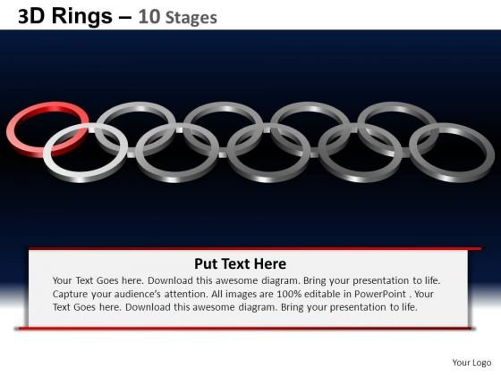 PowerPoint Templates Strategy Rings Ppt Design