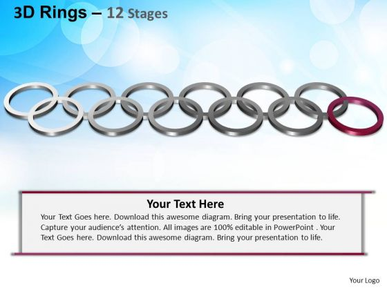 PowerPoint Templates Strategy Rings Ppt Presentation