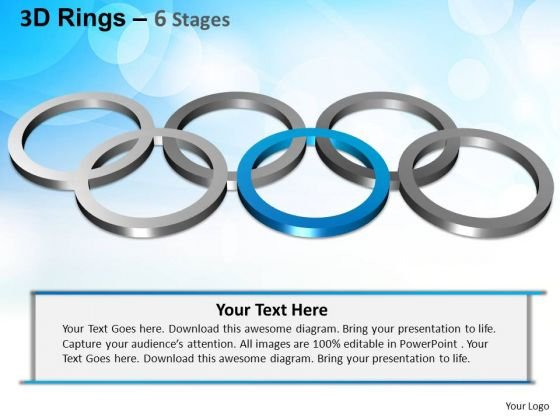 PowerPoint Templates Strategy Rings Ppt Process