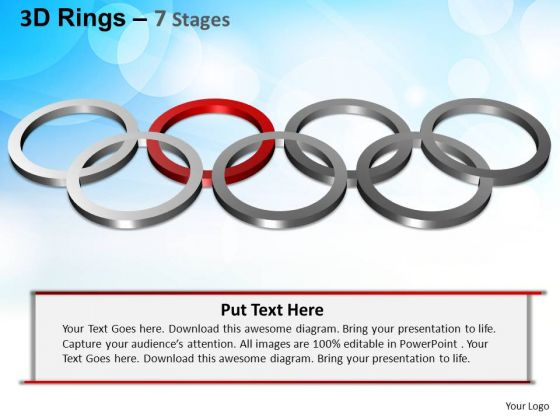 PowerPoint Templates Strategy Rings Ppt Slide