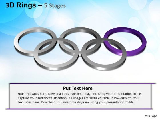 PowerPoint Templates Strategy Rings Ppt Slides