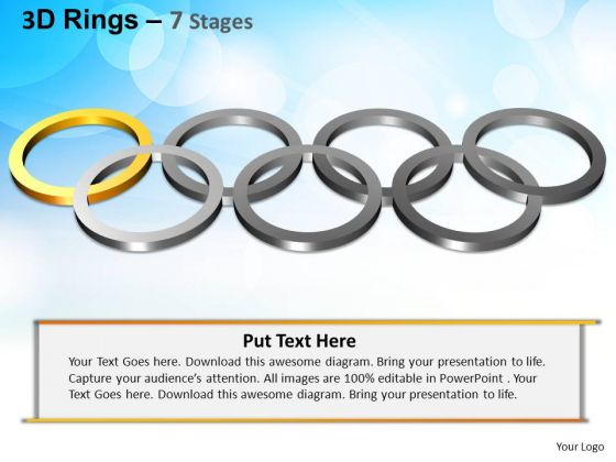 PowerPoint Templates Strategy Rings Ppt Theme