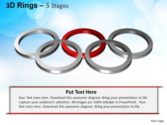 PowerPoint Templates Strategy Rings Ppt Themes