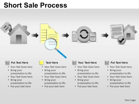 PowerPoint Templates Strategy Short Sale Process Ppt Themes