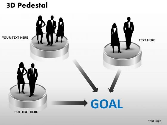 PowerPoint Templates Success 3d Pedestal Ppt Designs