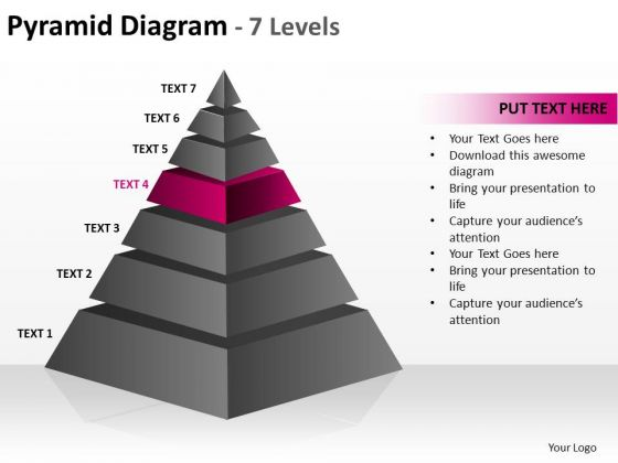 PowerPoint Templates Success Cone Diagram Ppt Slides