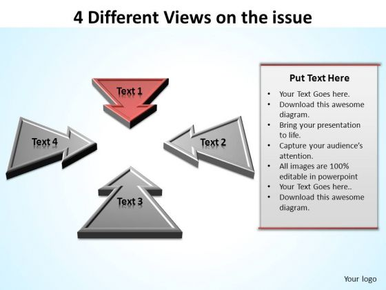 PowerPoint Templates Success Different Views Ppt Templates