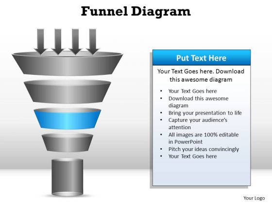 PowerPoint Templates Success Funnel Diagram Ppt Backgrounds