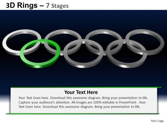 PowerPoint Templates Success Rings Ppt Theme
