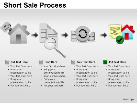 PowerPoint Templates Success Short Sale Process Ppt Themes