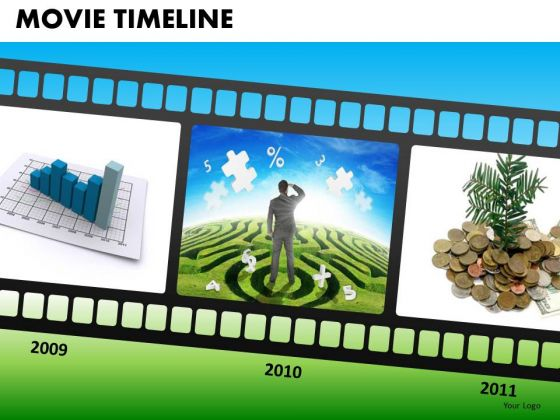 PowerPoint Templates Targets Movie Timeline Ppt Presentation Designs