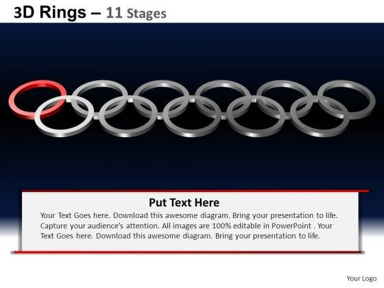PowerPoint Templates Teamwork Rings Ppt Themes