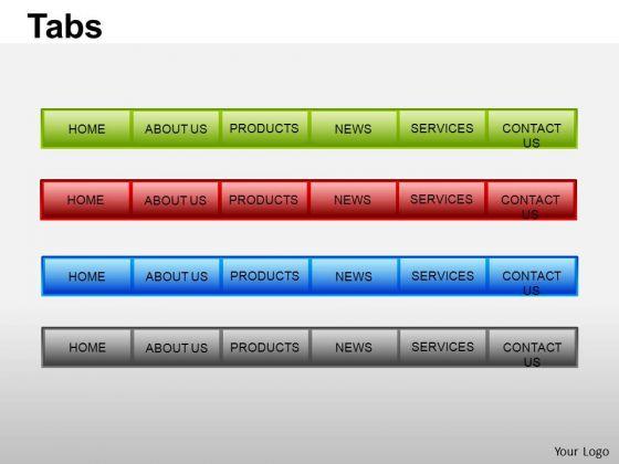 Tab powerpoint templates slides and graphics toneelgroepblik Choice Image