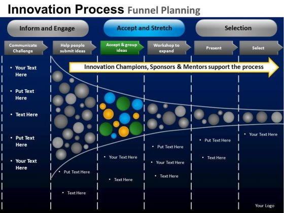 PowerPoint Templates Visual Funnel Planning Ppt Presentation