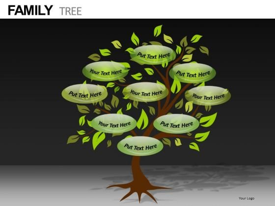 PowerPoint Templates With Editable Family Treees