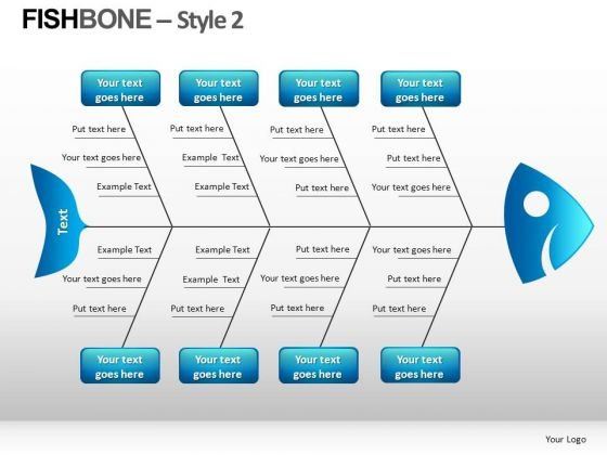 PowerPoint Templates With Fishbone Diagram