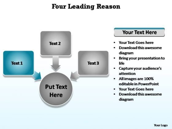PowerPoint Theme Business Five Leading Reason For Cause Ppt Presentation
